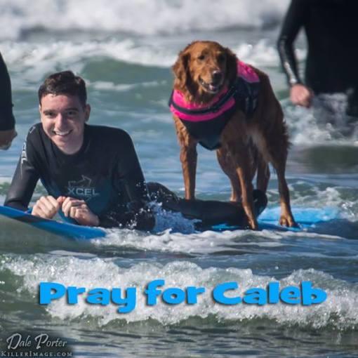 Caleb and Ricochet - Facebook/SurfDogRicochet