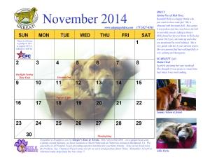11 November 2014 revision